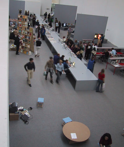 lounge - documenta 11