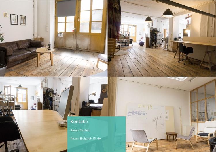 Atelier Munchen Neuhausen 1 3 Arbeitsplatz In