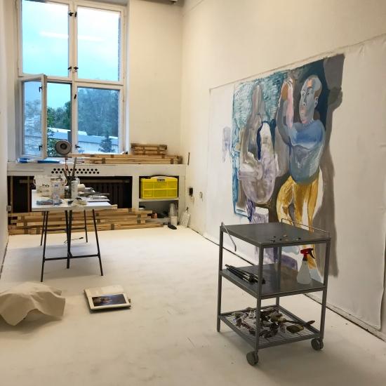 20 qm Atelier Kreativstadt Weissensee ab 4. April