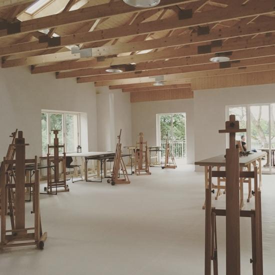 Auszeit in großem Atelier in Mecklenburg / direkt am See