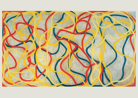 Brice Marden (*1938), Chinese Dancing