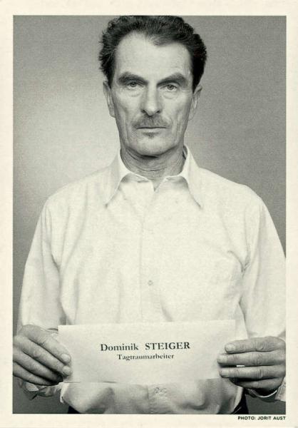 Dominik STEIGER. Tagtraumarbeiter
