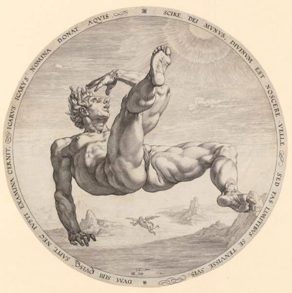 Sich kreuzende Parallelen. Agostino Carracci und Hendrick Goltzius - ETH Zürich (9.12.20-14.3.21)