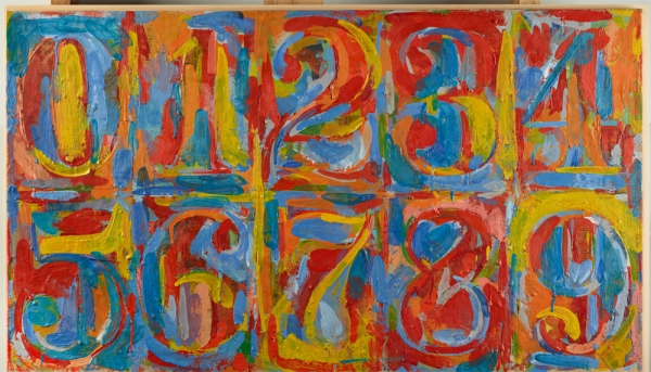 Jasper Johns Zero to Nine
